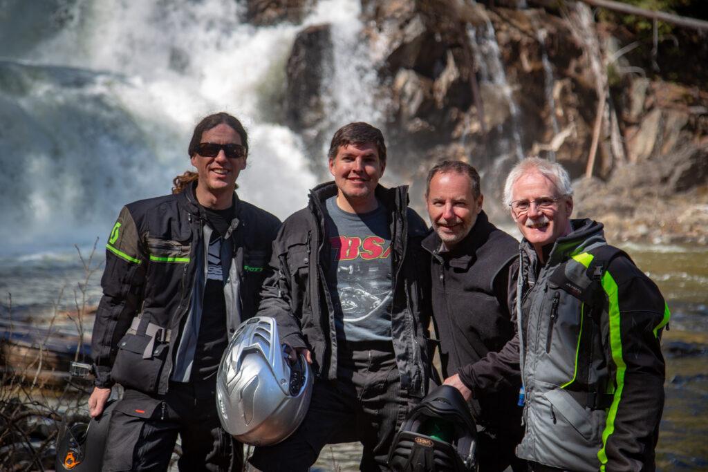 (from Left to Right - Kris Biette, Aaron Janzen, Brad Payne, Mark Lane)